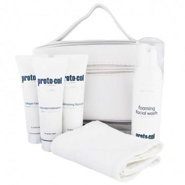 facial wash travel bag