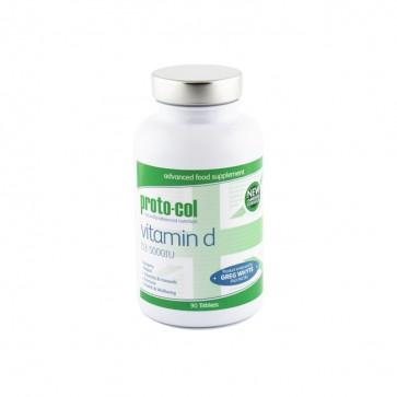 Vitamin D comprimés (formulation conçue par Greg Whyte OBE PhD FACSM)