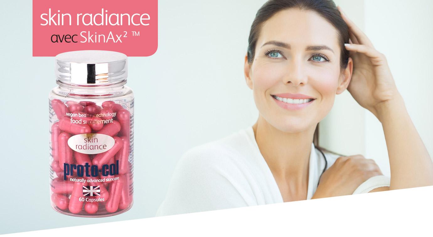skin radiance avec skinax